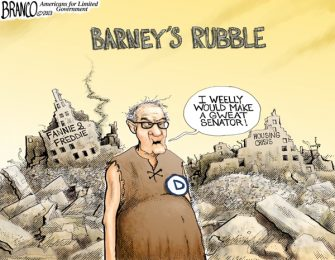 Branco Cartoon – Barney's Rubble