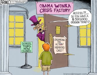 Obama Wonka Crisis Factory