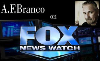 "A.F.Branco On Fox News Watch ""The Video"""