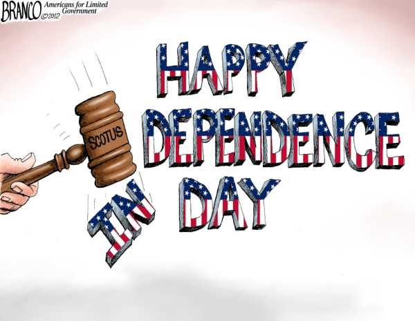 4th of July Dependence