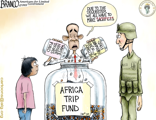 Obama Sequester Sacrifices