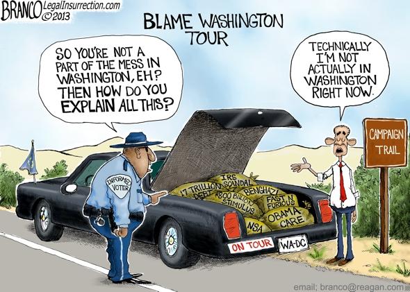 Obama Blames Republicans
