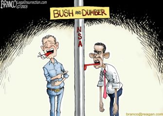 Stuck on Dumber (Obama NSA)