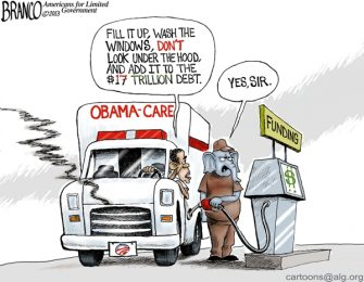 Fill it Up ( Funding Obama-care )