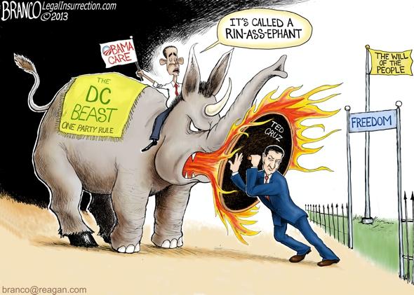 Cruz Fights Obama-Care