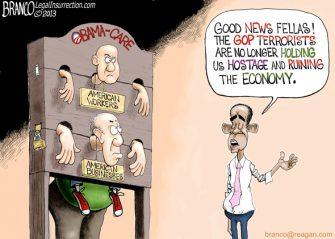 Obama Shackles