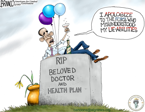 Obama Apology Political Cartoon