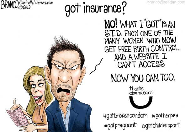 Thanks Obama-Care Cartoon