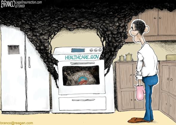 Obama Thanksgiving Cartoon