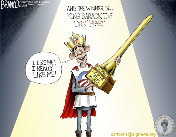 King Barack The Lyin' Heart