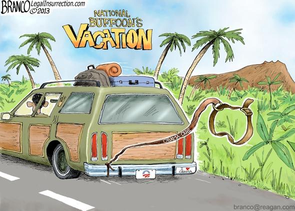 Obama Vacations