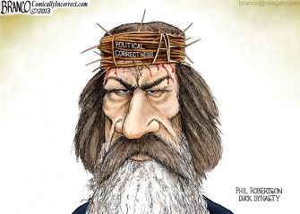 Phil Robertson P.C. Crucified