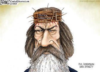 Phil Robertson P.C. Crucified