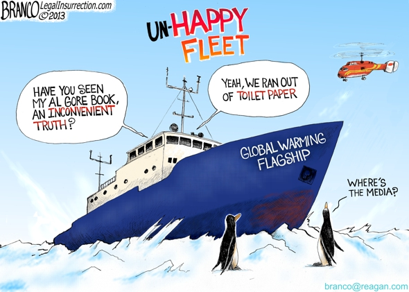 Global Warming Stuck in Ice