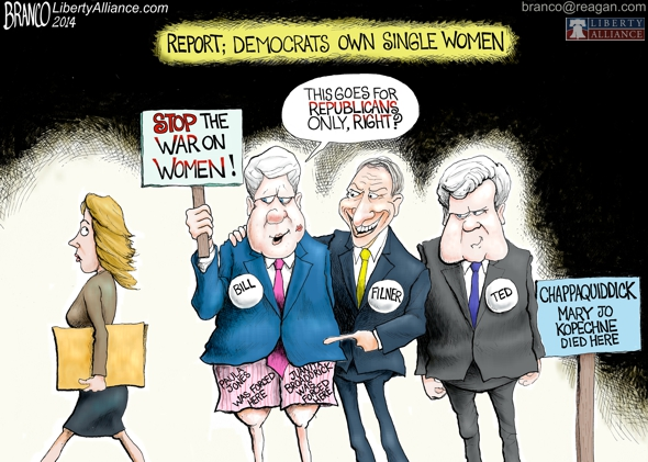 Democrats Own Single Women