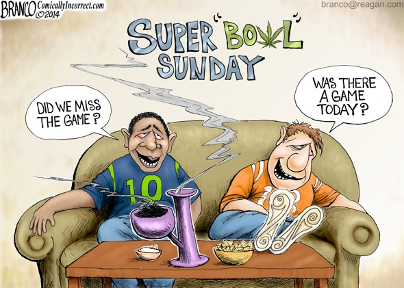 Super Bowl Sunday 2014