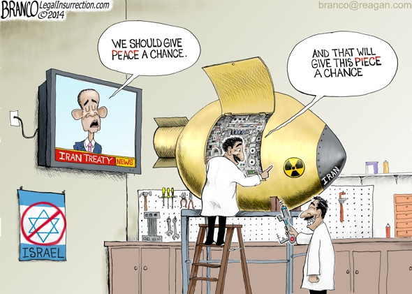 Iran's Nuclear Program cartoon