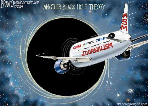 Media Black Hole Theory