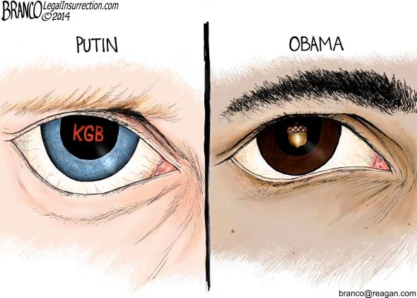 Putin and Obama Comparison