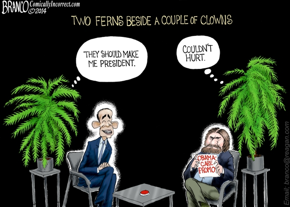 Obama Between Two Ferns