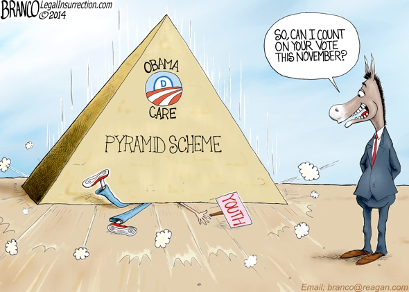 Obama Pyramid Scheme