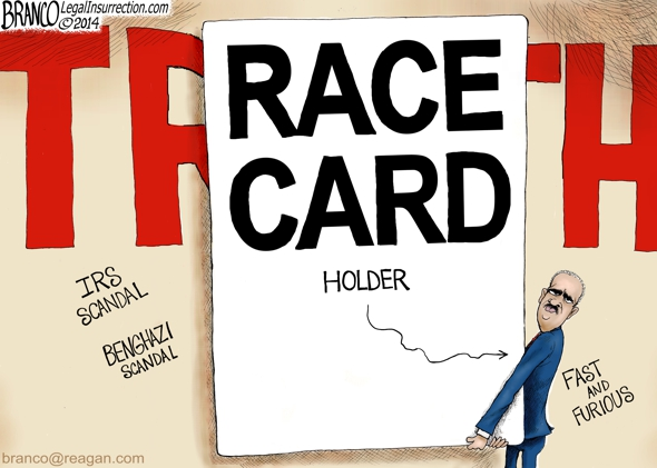Eric Holder Race Card