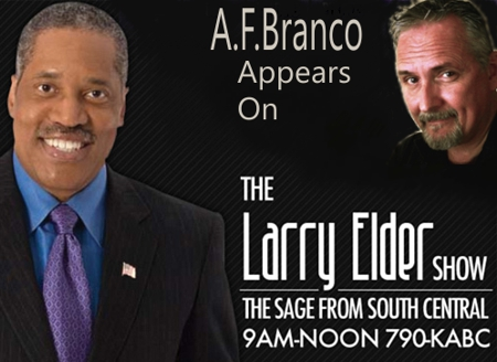 Larry Elder With A.F.Branco