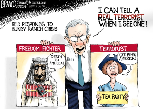Harry Reid Tea Party Terrorist