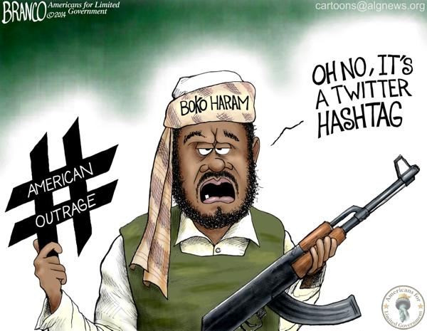 Boko Haram Hashtags