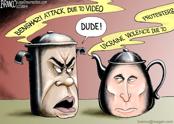 Obama Says Putin Lies