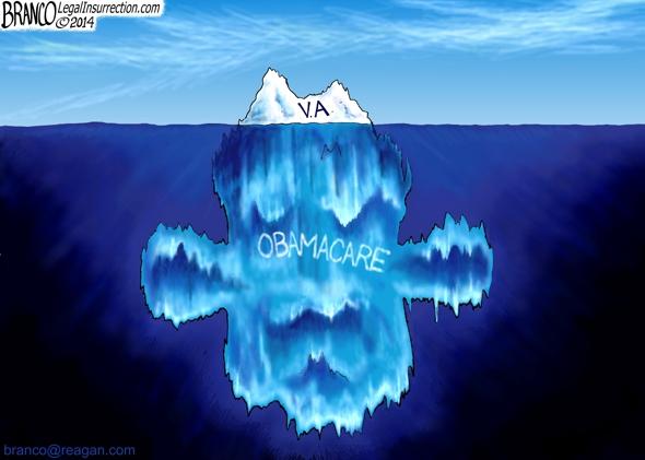 V.A. Scandal Iceberg