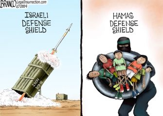 Defense Shields, Israeli vs Hamas