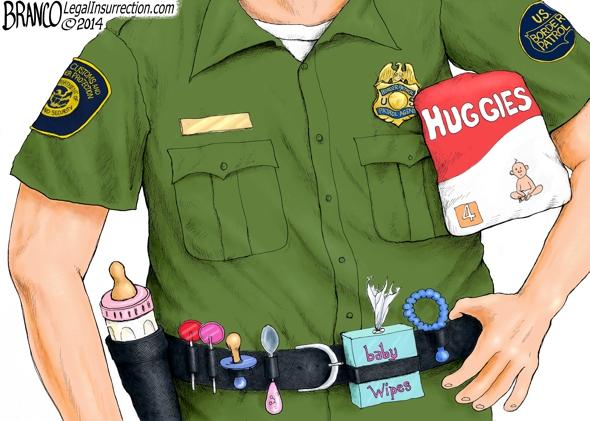 Border Patrol Baby Sitters