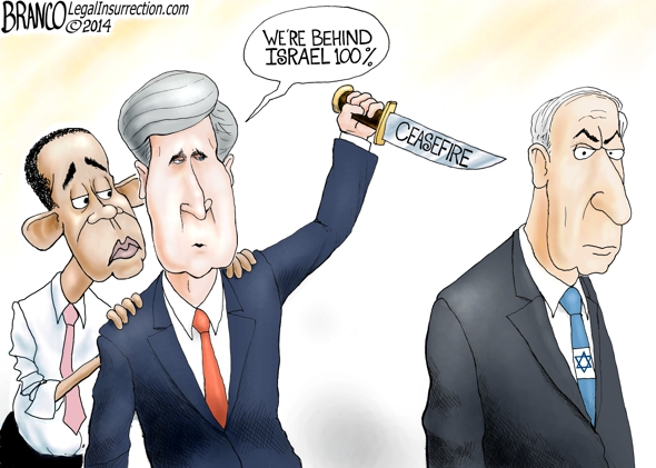 Ceasefire in Israel Cartoon