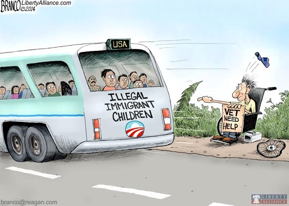 Immigrants vs Veterans
