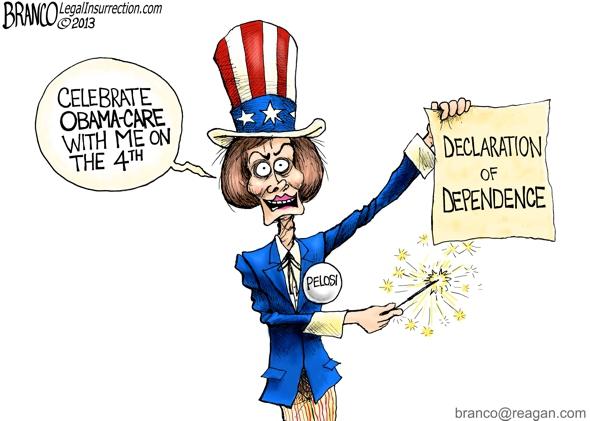 Pelosi 4th of July
