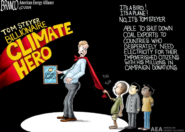 Climate Heros Cartoon