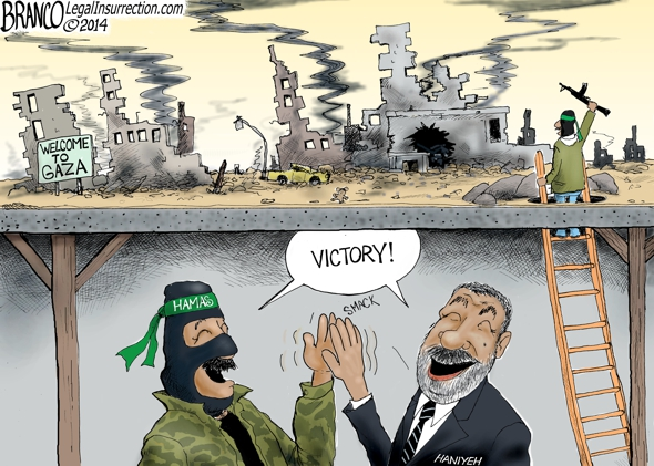 Israel Hamas Ceasefire Cartoon
