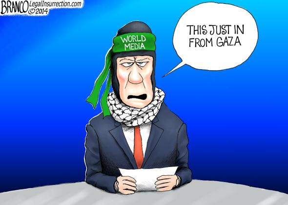 World Media Bias Political Cartoon