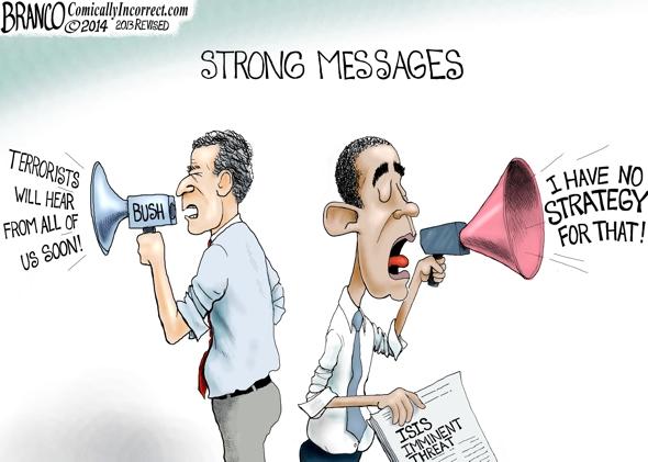 No Obama Strategy