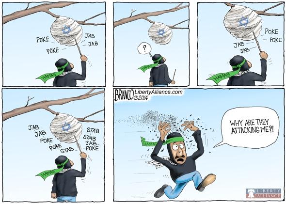 Hamas Started It