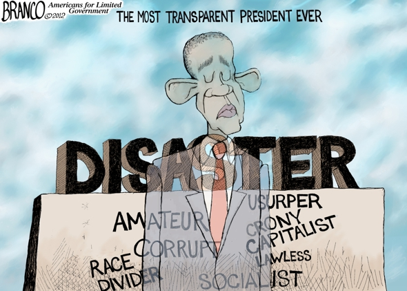 Obama Transparency Cartoon