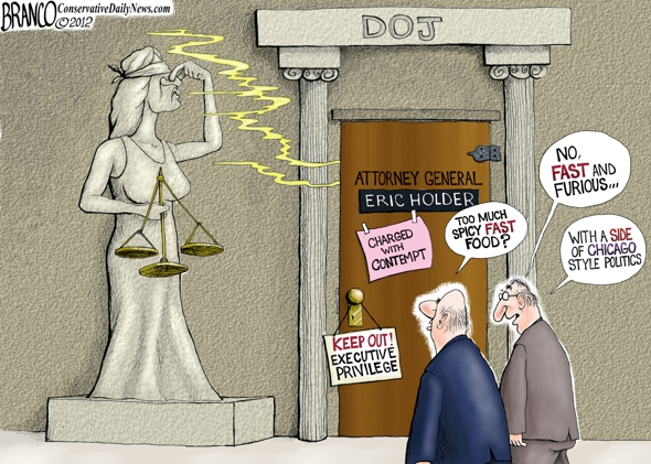 Eric Holder Political? Cartoon