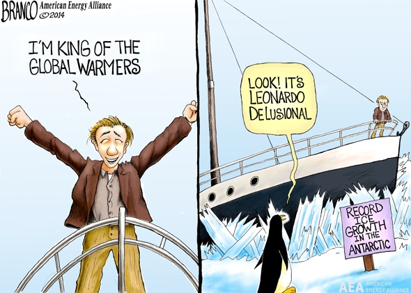 DiCaprio Global Warming