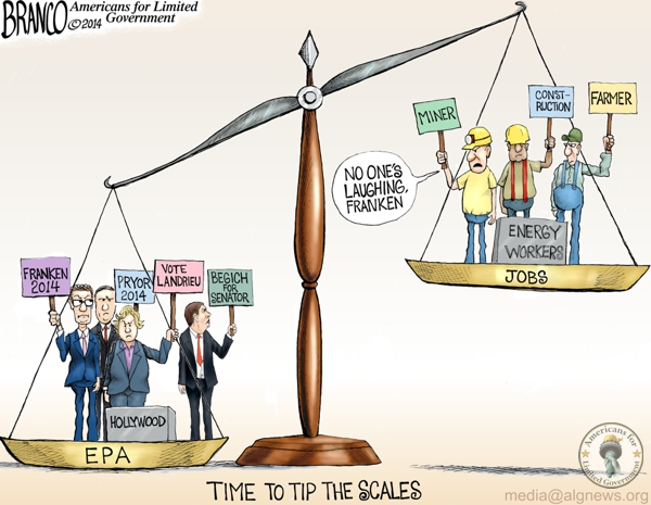 EPA Politics Cartoon