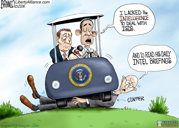 James Clapper ISIS Cartoon