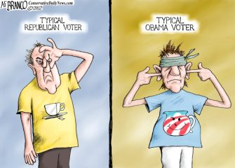 Past Blast Cartoon – Typical Voters