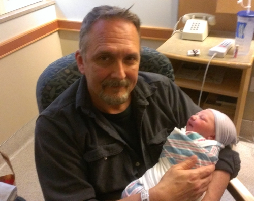 Dad and Amelia Rose Branco