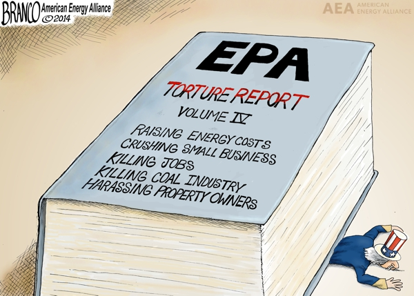 EPA Tyranny | Political Cartoon | A.F.Branco