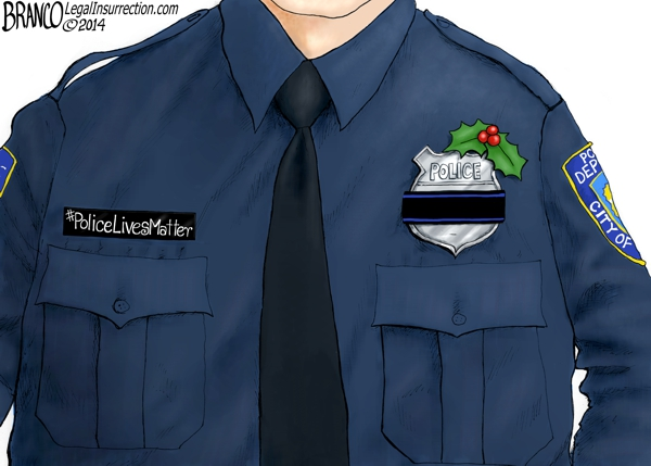 Police memorial Christmas